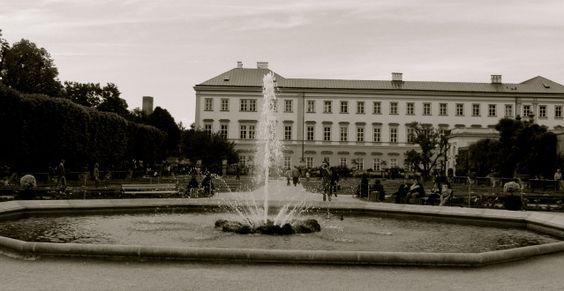 Sound of Music scenes: Salzburg, Austria