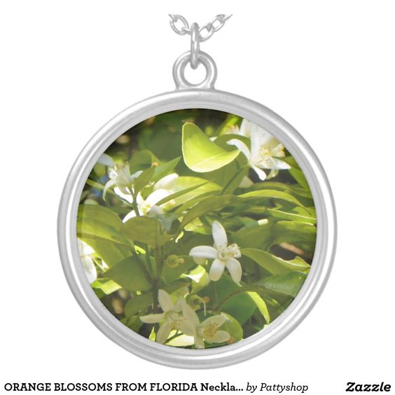 ORANGE BLOSSOMS FROM FLORIDA Necklace