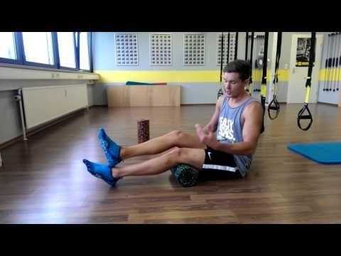 100 Harte Tage mit Dominik Franke: Faszientraining mit der Blackroll - Selbstmassage - YouTube