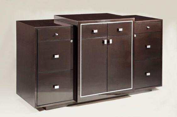 Custom hospitality console cabinet.