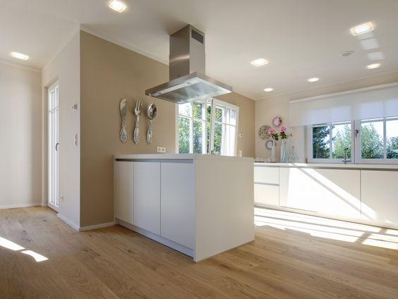 Die schönsten Küchen Ideen Boden, Kitchens and Interiors - kche wandfarben