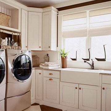 Farmhouse sinks, Laundry and Laundry rooms on Pinterest