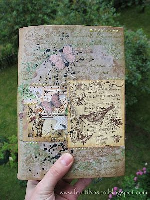 art journal cover by frutti