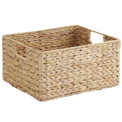 Water Hyacinth Baskets with Handles