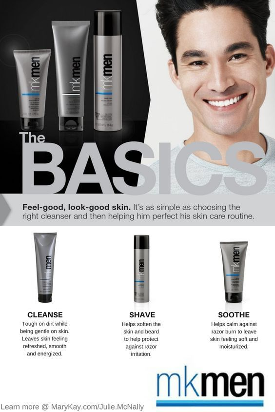 Get These Mk Men Basics For The Man In Your Life These Great Products Help To Cleanse And Soothe His Skin After Mary Kay Cosmetics Mary Kay Selling Mary Kay
