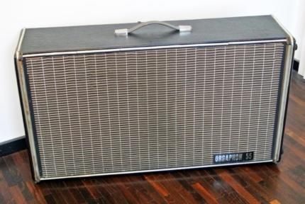 hohner lautsprecher box orgaphon 55 vintage 60er jahre. Black Bedroom Furniture Sets. Home Design Ideas