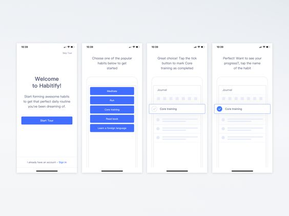 5 UX Tips to Master the App Onboarding – 10Clouds – Medium