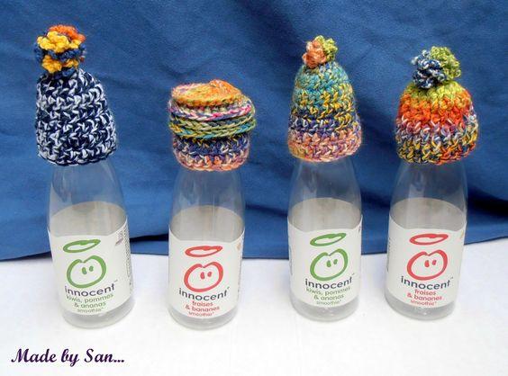 Petits bonnets pour Innocent et les Petits Frères des Pauvres, Made by San ;)
