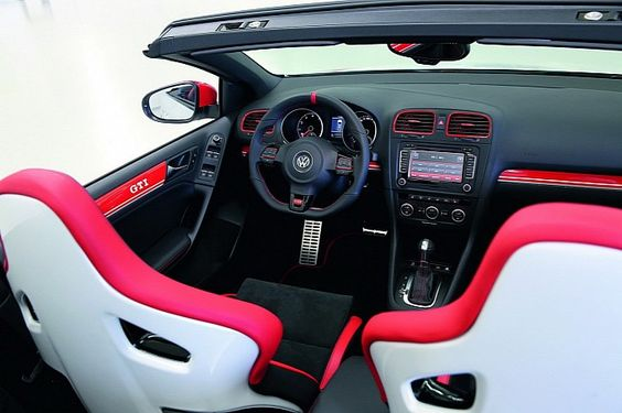 Volkswagen Golf GTI Cabrio Study