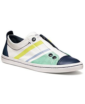 COACH ADORA SLIP-ON SNEAKER - All Women's Shoes - Shoes - Macy's