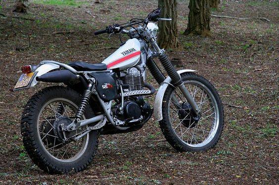 Classic motorbike trial yamaha for Yamaha xt500 motorcycle