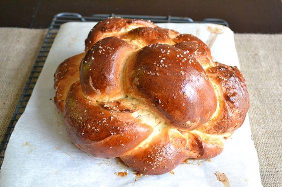 Fig, Olive Oil, & Sea Salt Challah | yummy | Pinterest | Challah, Figs ...