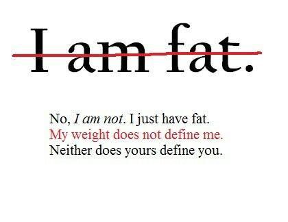 Am not fat..