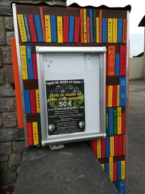Boite à livres Marche en Famenne Marloie