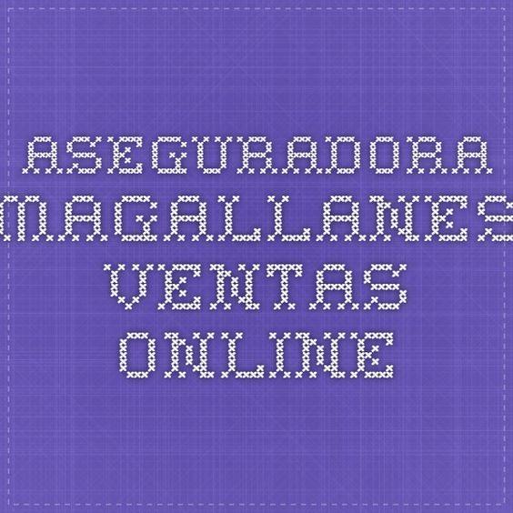 Aseguradora Magallanes - Ventas OnLine Seguro Obligatorio Chile SOAP Extranjeros