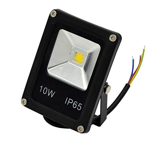 15 00 Zesol 12v 10w Led Wall Sconce Flood Light Outdoor Lighting Iron Daylight White You Can Get Additio Outdoor Lighting Outdoor Projector Flood Lights