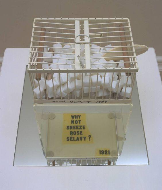 Marcel Duchamp - Why Not Sneeze Rose Sélavy? 1921, replica 1964