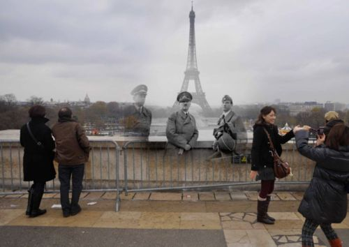The Daily Mail has featured an interesting photo set by Russian photographer Sergey Larenkov who collected old pictures of European cities which suffered the heaviest fighting during World War II, and then spent 12 months re-creating them using current photos. http://tmblr.co/Z-pvpwIFejXS