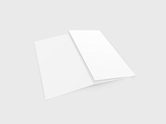 Partly open DL Tri fold leaflet Mock Ups Pinterest Tri fold - blank tri fold brochure template
