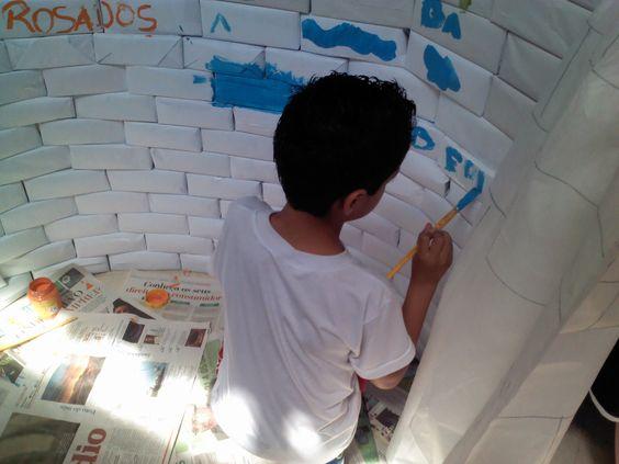 Feira do Livro Escolar: O Muro.