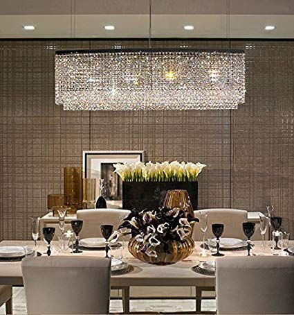 Modern Crystal Chandeliers For Dining Room How To Take Your Pick Crystal Chandelier Dining Room Dining Room Chandelier Modern Modern Crystal Chandelier