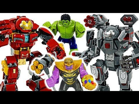 Roblox Iron Man How To Get War Machine Lego Marvel Avengers 4 End Game War Machine Buster Hulk Buster Defeat Thanos Dudupoptoy Youtube Lego Marvel S Avengers Hulkbuster Lego Marvel
