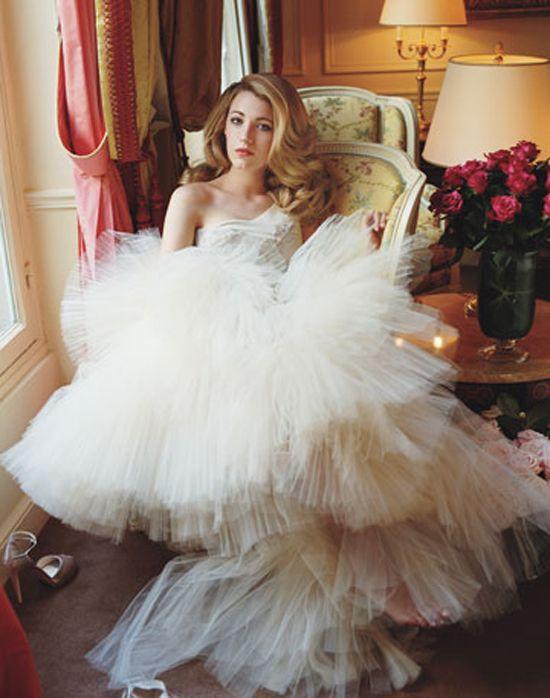 Blake Lively Marchesa Wedding Dress - Missy Dress