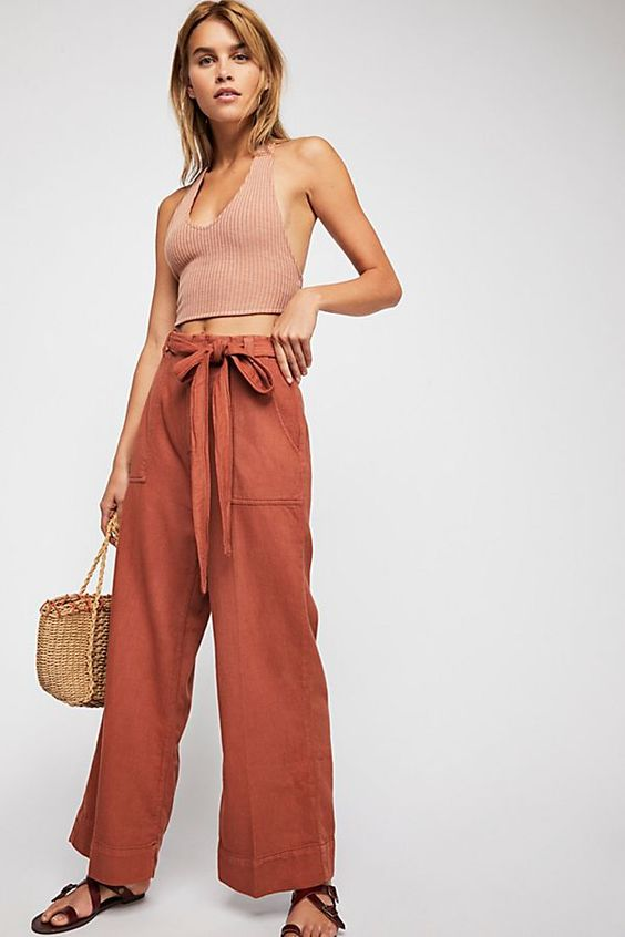 Slide View 1: Harper Wide Leg Pants