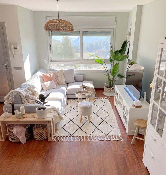 Tips para decorar un salón alargado