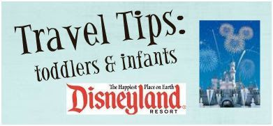 Brie Brie Blooms: Travel Tips: Disneyland with Infants and Toddlers