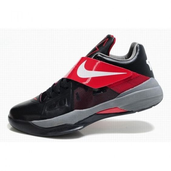finest selection a61b0 3d58b Top Seller Nike Zoom Kevin Durant New KD IV Men Metallic Gold Black Basketball  Shoes For  72.50 Go To  http   www.basketball-mall.com   Pinterest   Black  ...