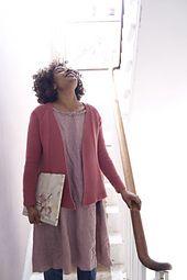 Ravelry: Silene Cardigan pattern by Pam Allen