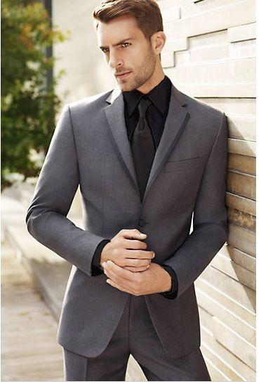 trajes de novio gris , Buscar con Google