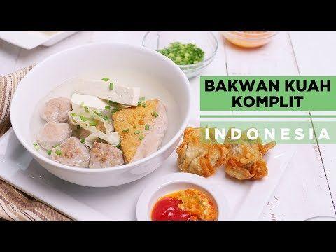 Bakwan Kuah Komplit Indonesia Youtube Makanan Makanan Dan Minuman Daging Sapi