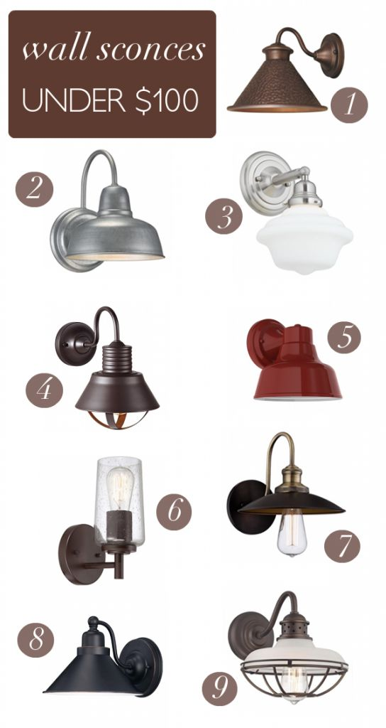 Wall Sconces Under 100 : Wall sconces, Sconces and Brooke d orsay on Pinterest