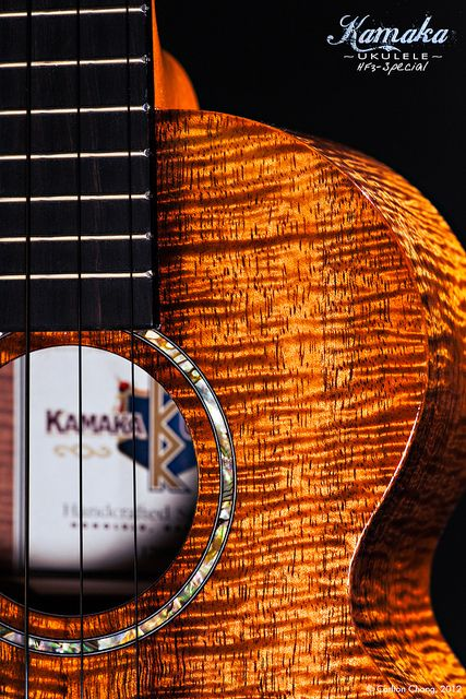 Kamaka HF3 Ukulele by Carlton Chong, via Flickr s
