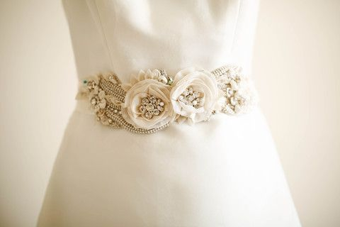 Bridal sash - Style S29