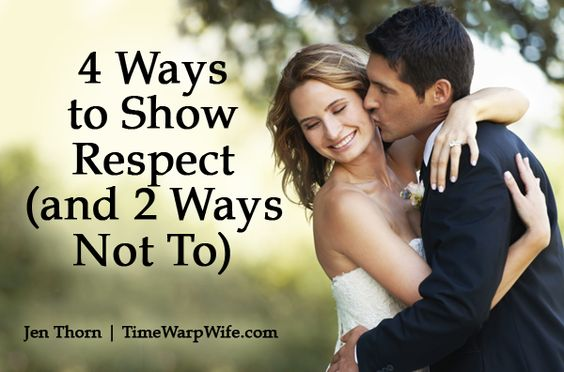 4 Ways to Show Respect (and 2 Ways Not To | Last night ...