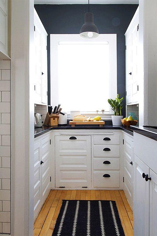 14 trucos para renovar la cocina de forma sencilla - Muebles de cocina pequenos ...