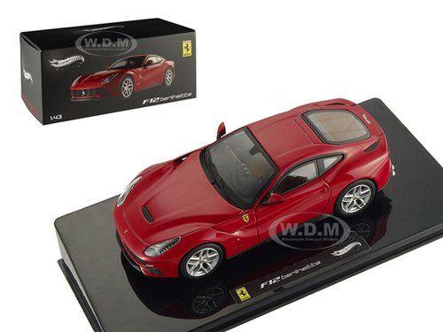 Ferrari F12 Berlinetta Red Elite Edition 1 43 By Hotwheels X5499 Diecast Model Cars Ferrari Ferrari F12