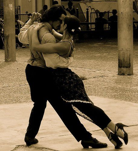 Argentine tango - this reminds me of Omaha and my old boss who had a dance floor in our office and did the Argentine Tango all day!
