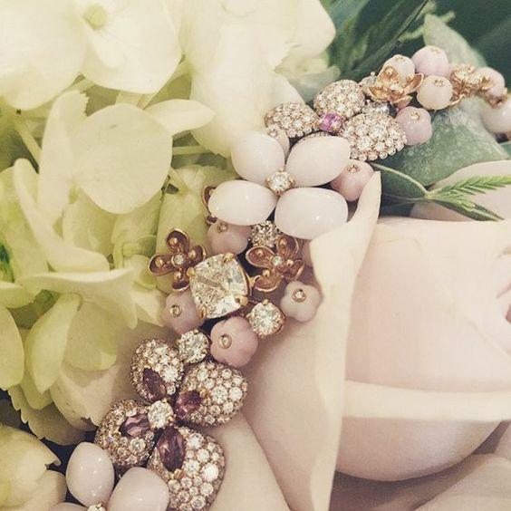 Flower bracelet @chaumetofficial.