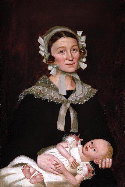 folk art portraits:
