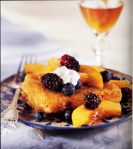 Berries on Toast (French that is)