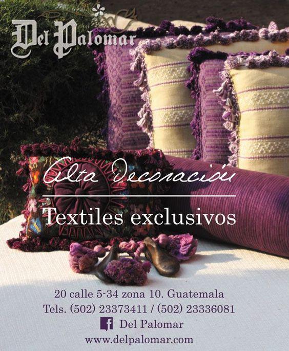 Alta decoración. Diseños exclusivos. Tu pones la creatividad y nosotros los textiles - 100% algodón, 100% hecho a mano, siguiendo la tradición del telar de pie - Los esperamos!