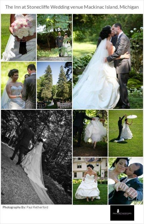 photo wedding mackinac island venue