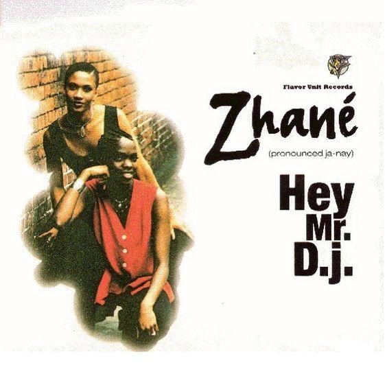 Zhané, Fam – Hey Mr. D.J. (single cover art)