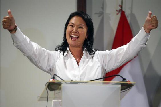 Keiko Fujimori pasa a segunda vuelta en elecciones de Perú