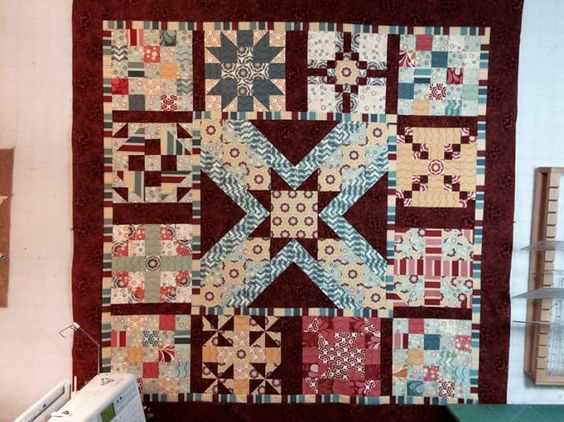 Globetrotting quilt #2014 quilt with pat sloan, pattern
