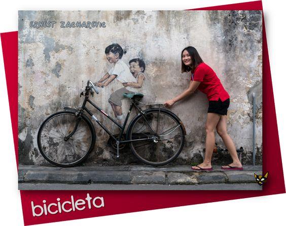 Zarampagalegando: Dicionario visual. Bicicleta